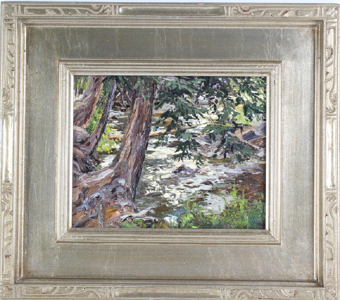 Carol Swinney American River Landscape Art Painting