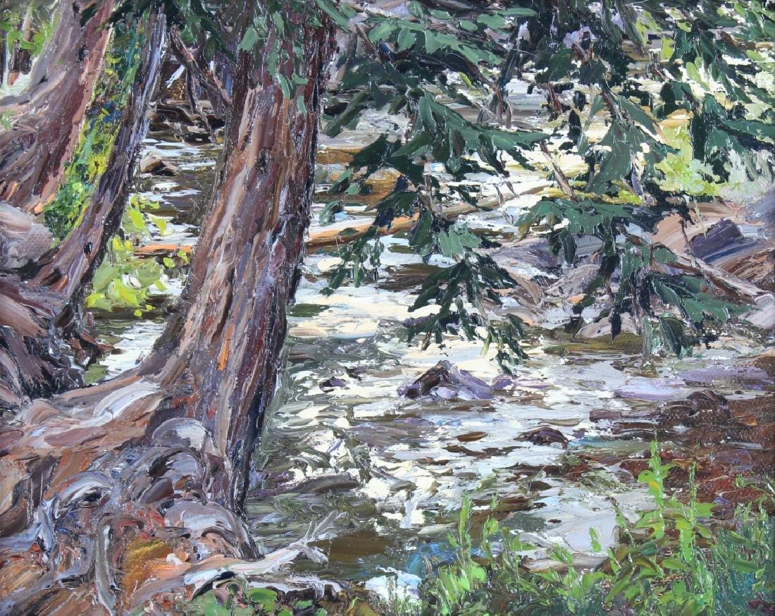 Carol Swinney American River Landscape Art Painting - 2