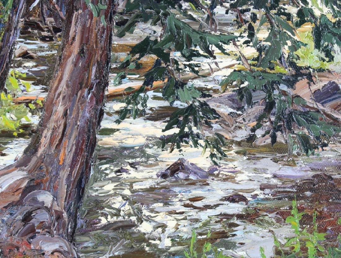 Carol Swinney American River Landscape Art Painting - 3