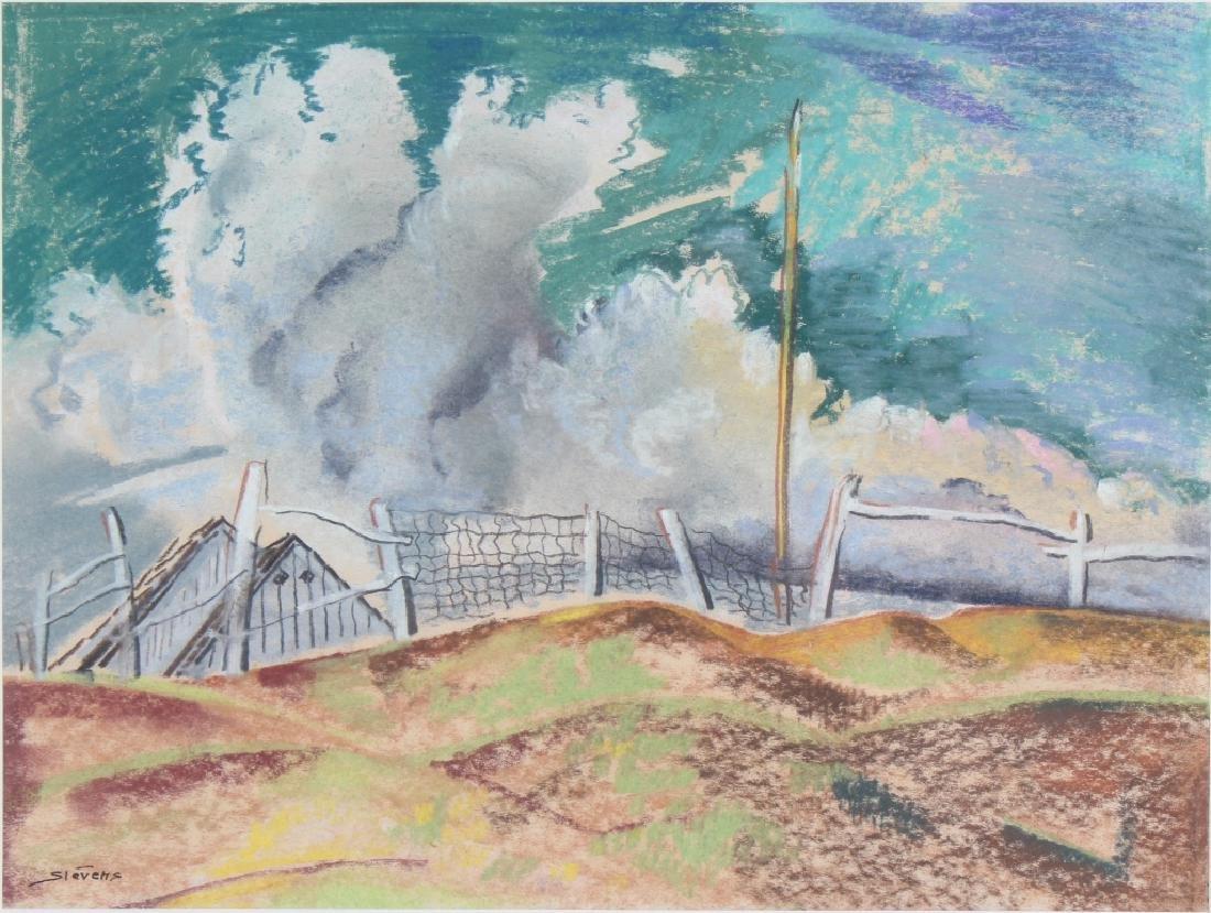 Will Stevens 1881-1949 American Landscape Art Painting