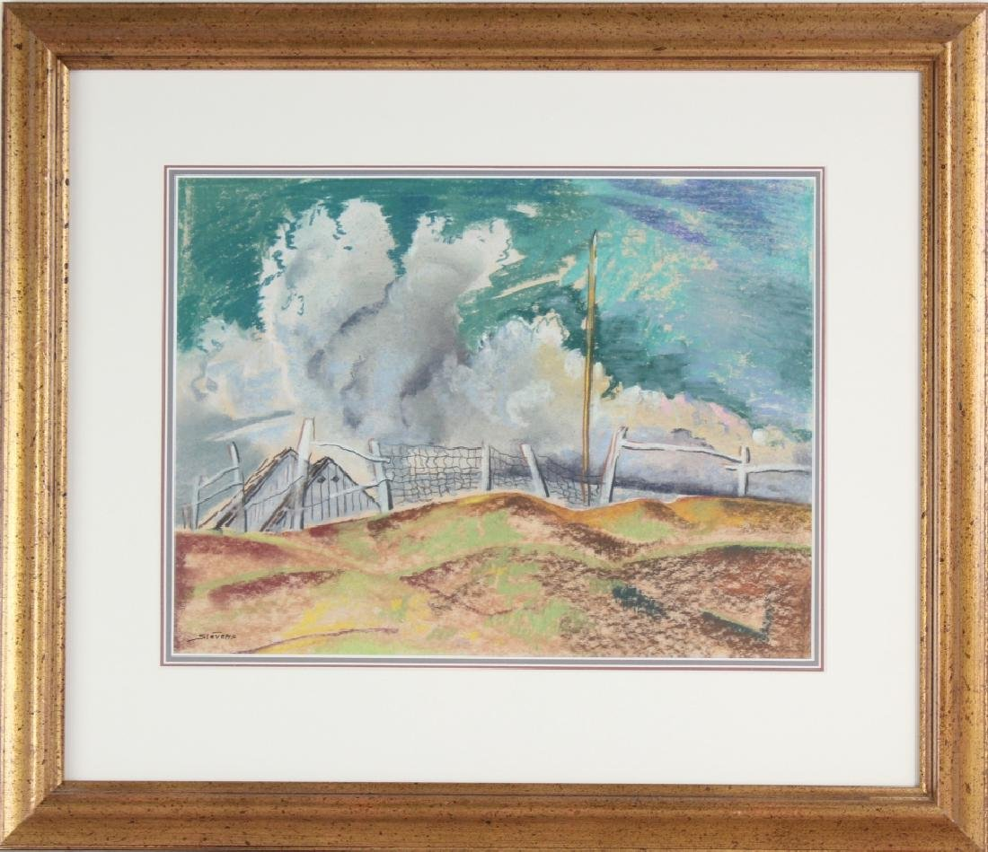 Will Stevens 1881-1949 American Landscape Art Painting - 2