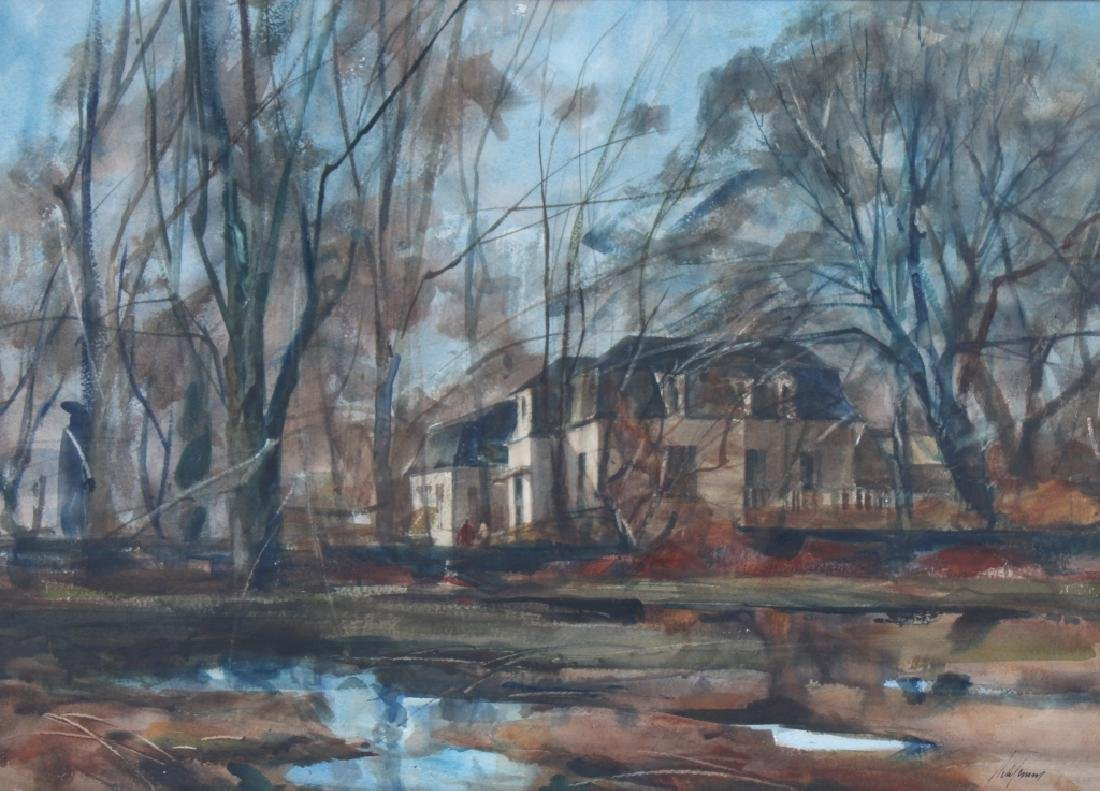 Betty Schlemm b.1934  American Landscape Art Painting