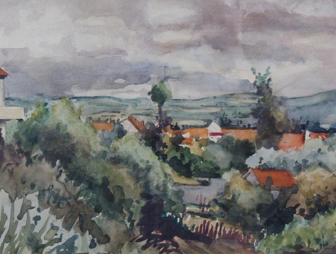 Eugène Villon 1879-1951 French Landscape Art Painting - 3