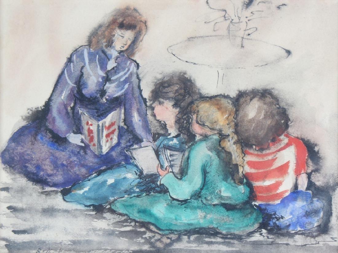 BETTY KATHE American Teaching Watercolor Art Painting