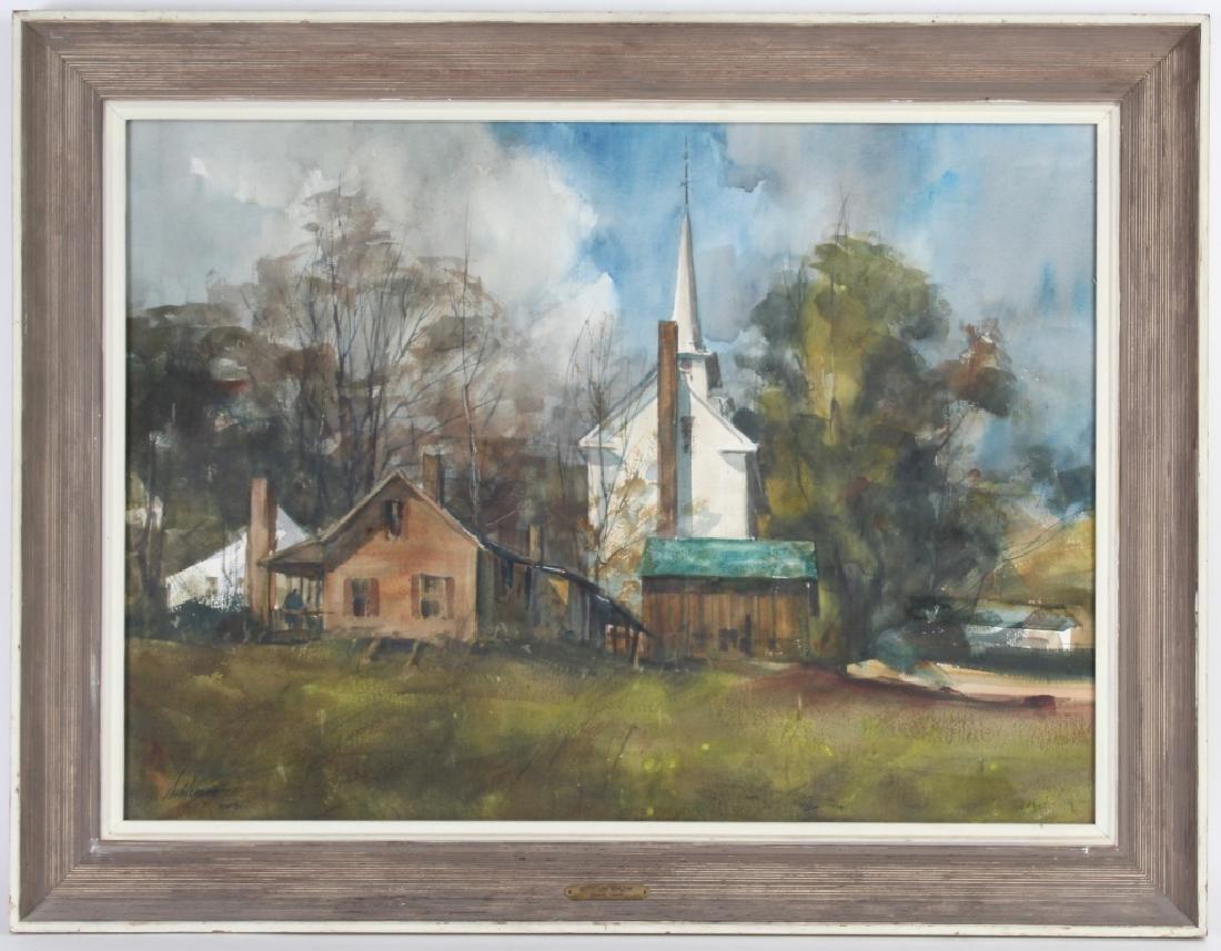Betty Schlemm b.1934 American Landscape Art Painting - 2