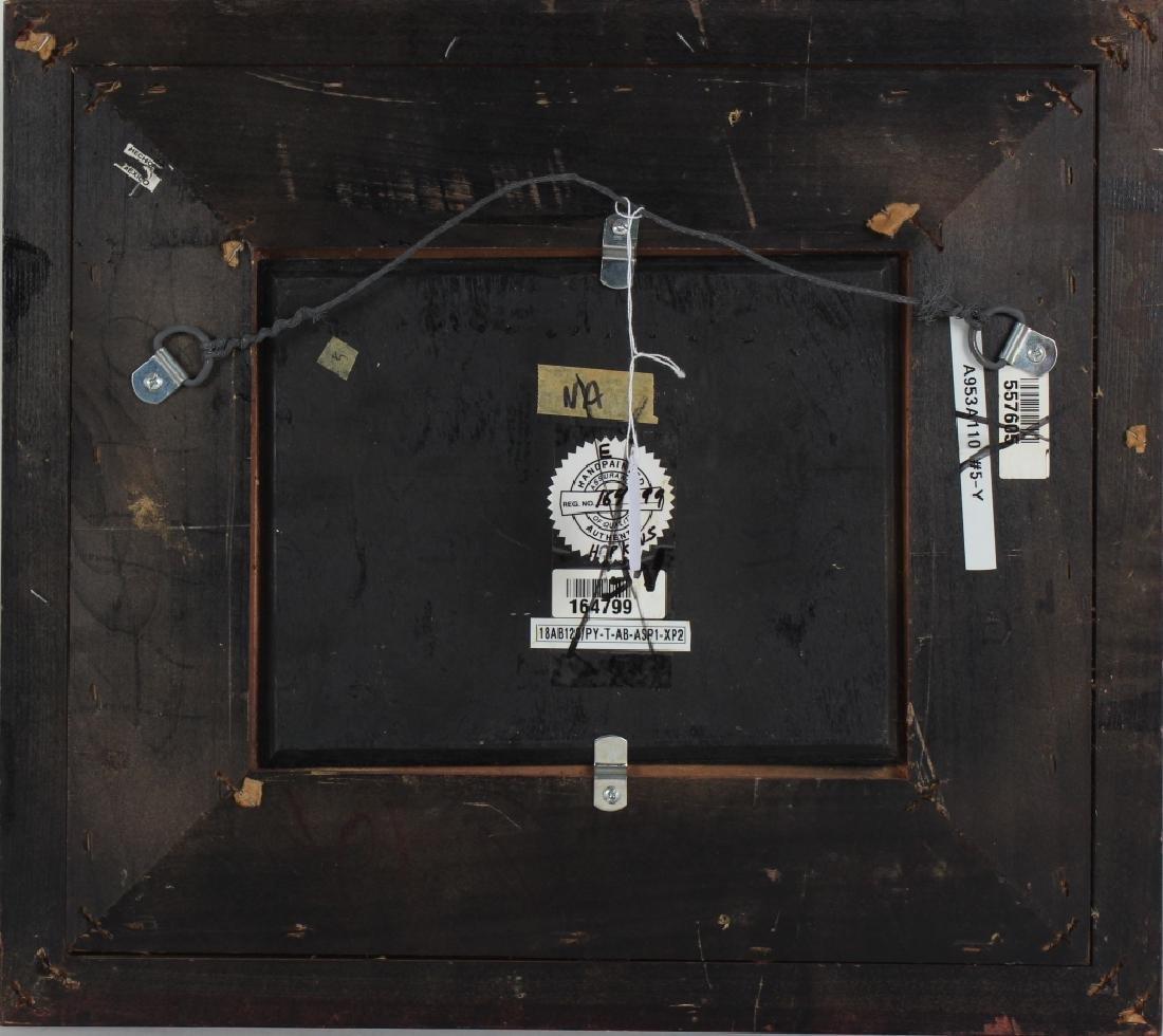 "Hopkins Orientalist Art ""Arabian Knights"" Oil Painting - 6"