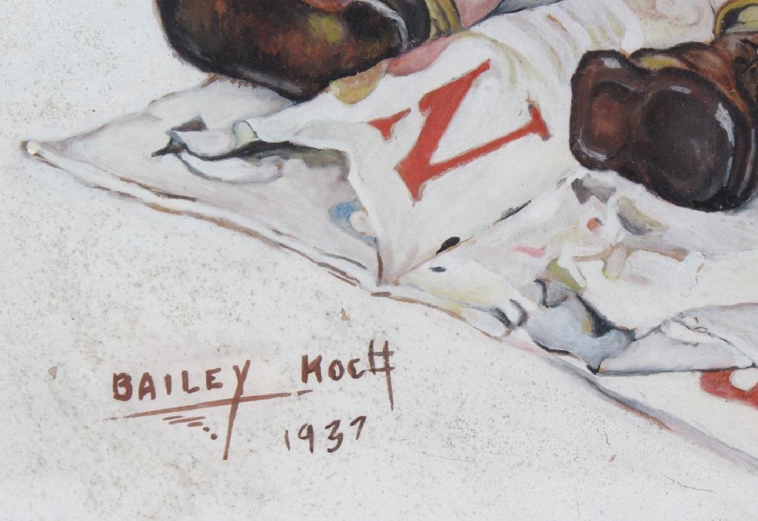 Bailey Koch American Norman Rockwell Art Painting - 6