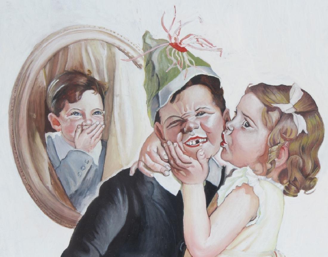 Bailey Koch American Norman Rockwell Art Painting - 3