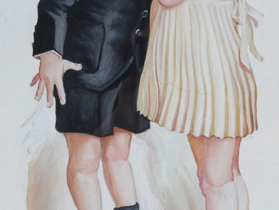 Bailey Koch American Norman Rockwell Art Painting - 4