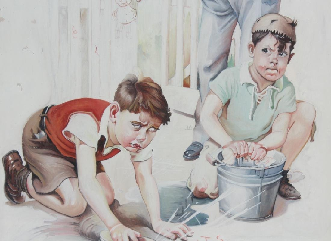 Bailey Koch American Norman Rockwell Art Painting - 3