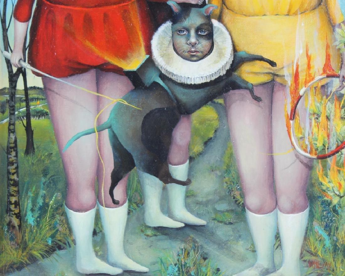 Heather Nevay Surrealist Art Oil Painting ORIGINAL - 4
