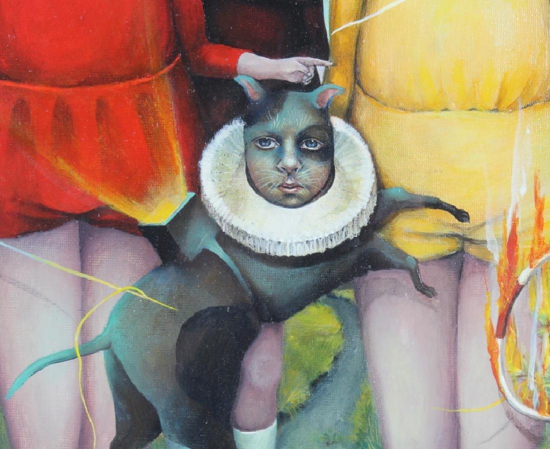 Heather Nevay Surrealist Art Oil Painting ORIGINAL - 6