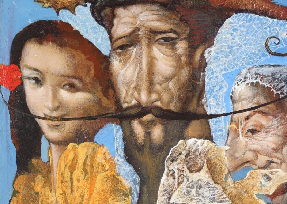 Vladimir Russian Surreal Art Portrait Oil Painting - 6