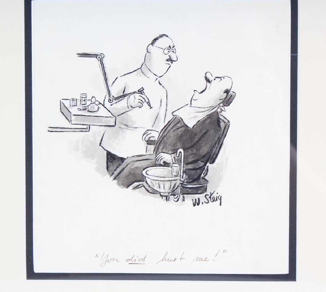William Steig (1907-2003) American Cartoon Art Drawing - 2