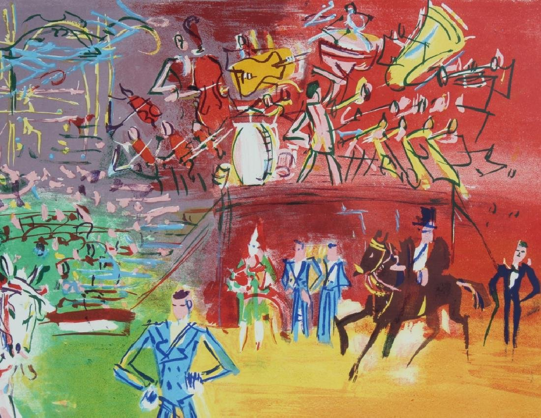 Jean Dufy LE CIRQUE Artist Proof Lithograph SIGNED - 3
