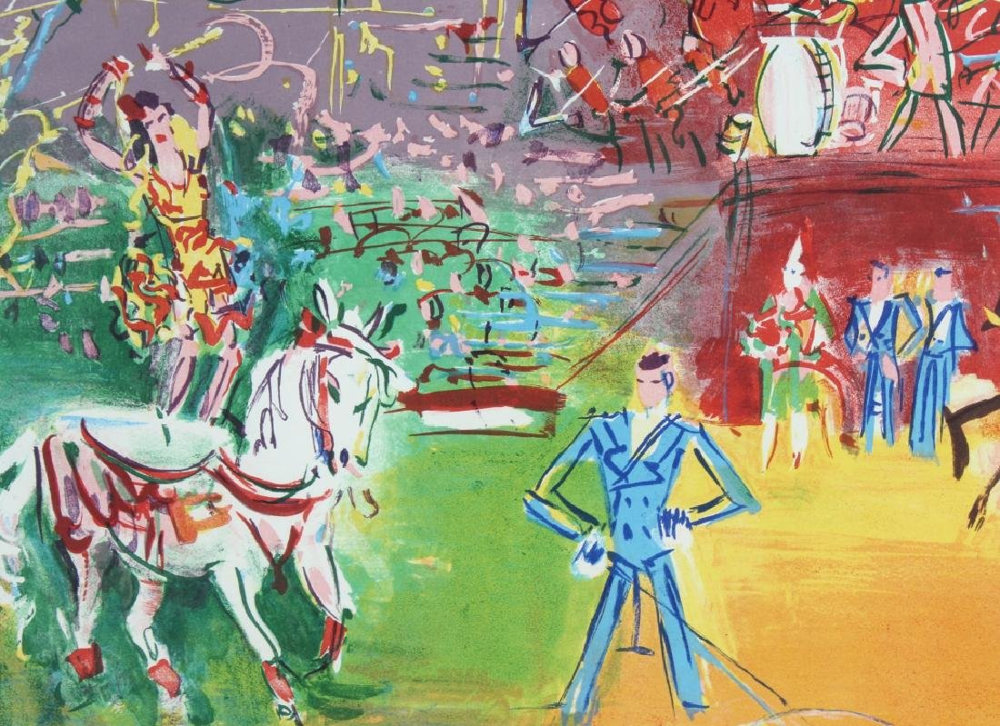 Jean Dufy LE CIRQUE Artist Proof Lithograph SIGNED - 4