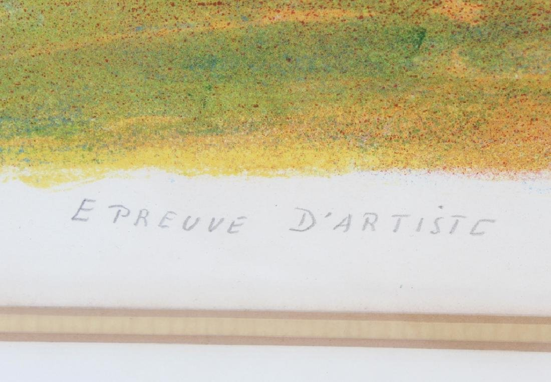 Jean Dufy LE CIRQUE Artist Proof Lithograph SIGNED - 5