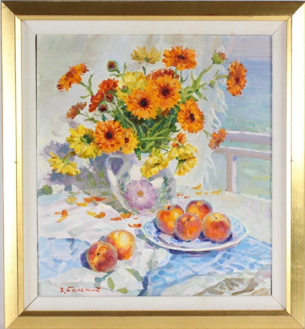 Vladimir Belsky b.1949 Russian Still Life Painting - 2