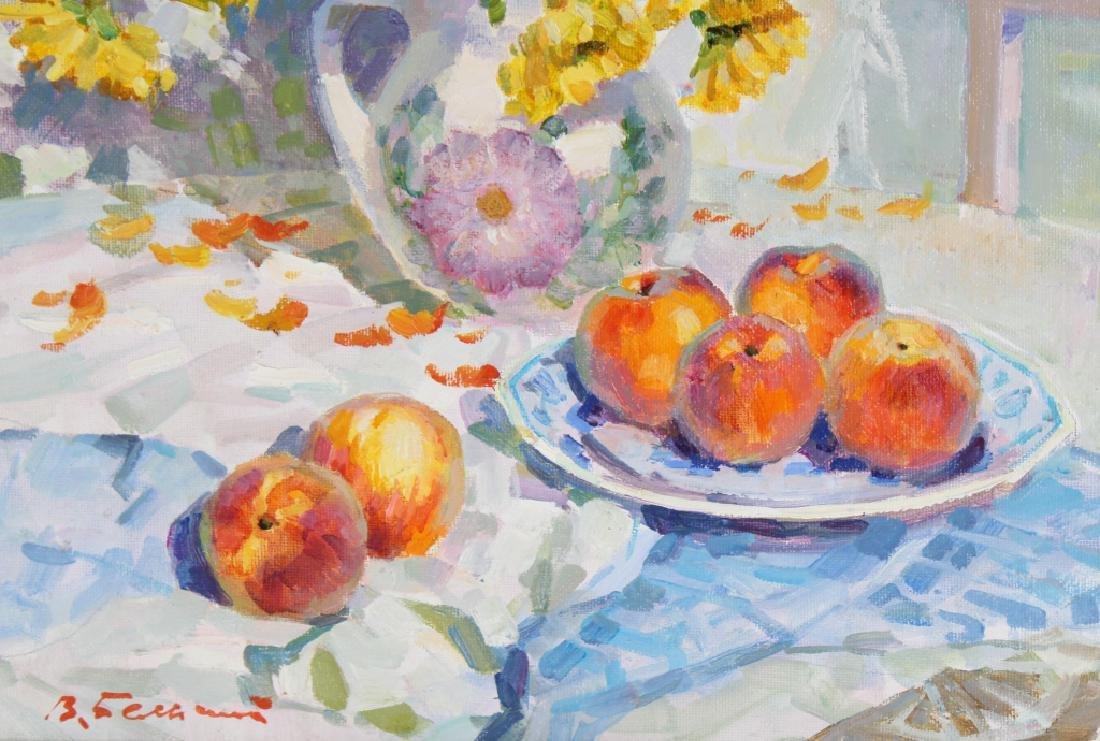 Vladimir Belsky b.1949 Russian Still Life Painting - 4