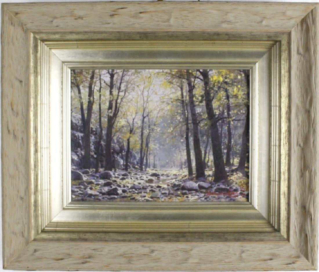 Francoise Koch American Landscape Art Oil Painting