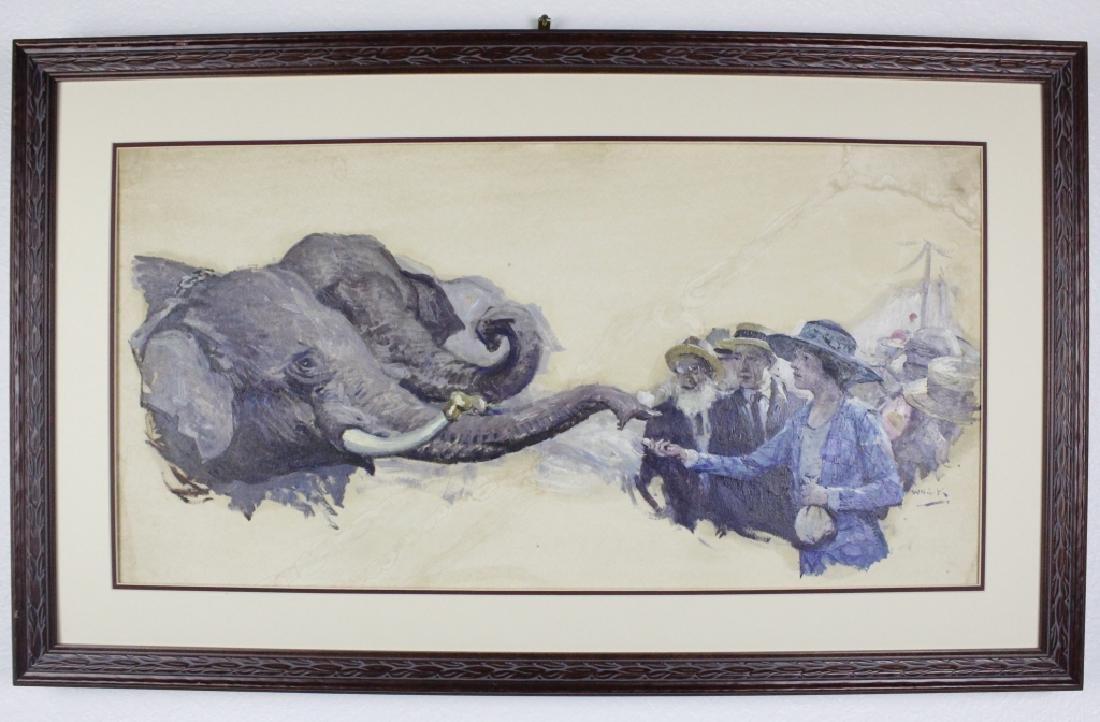 William Koerner American Illustration Art Painting