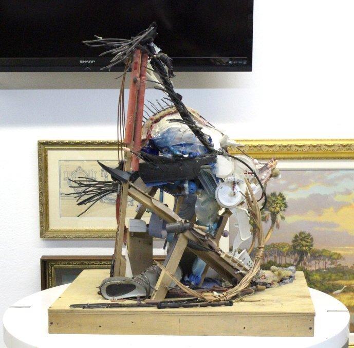 Tom Deininger b.1970 American UMA'S EYE Sculpture - 5