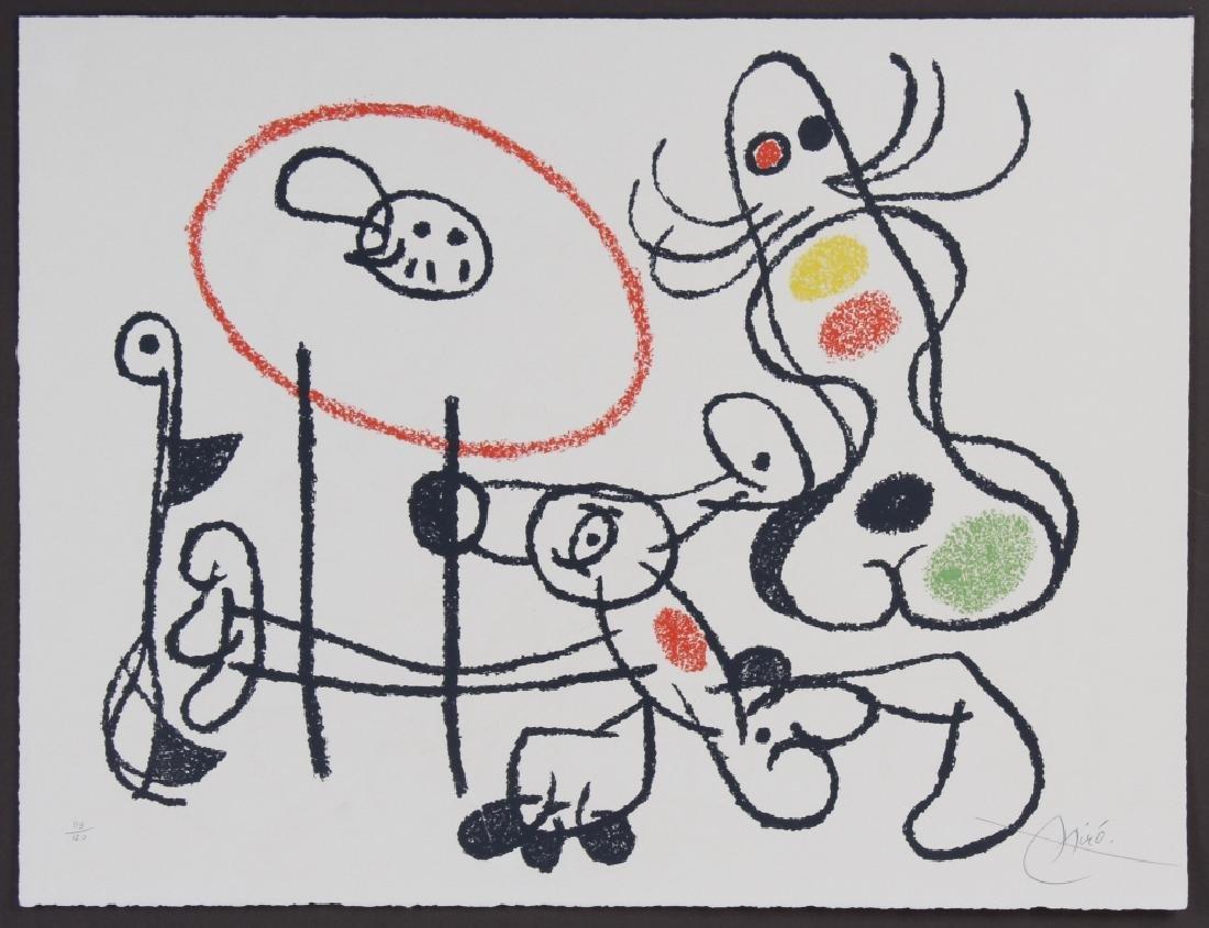 Joan Miro Hibou XIX Litho Lithograph PENCIL SIGNED