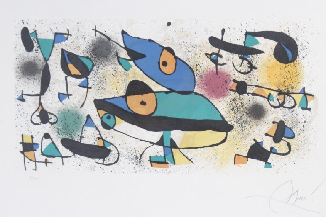 Joan Miro Art Sculpture II Litho Lithograph SIGNED