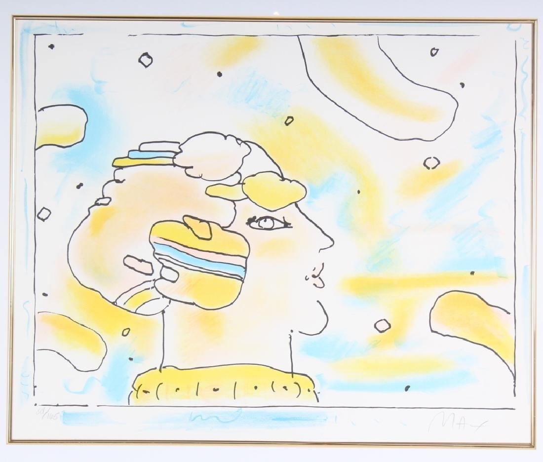 Peter Max b.1937 American Litho Lithograph SIGNED