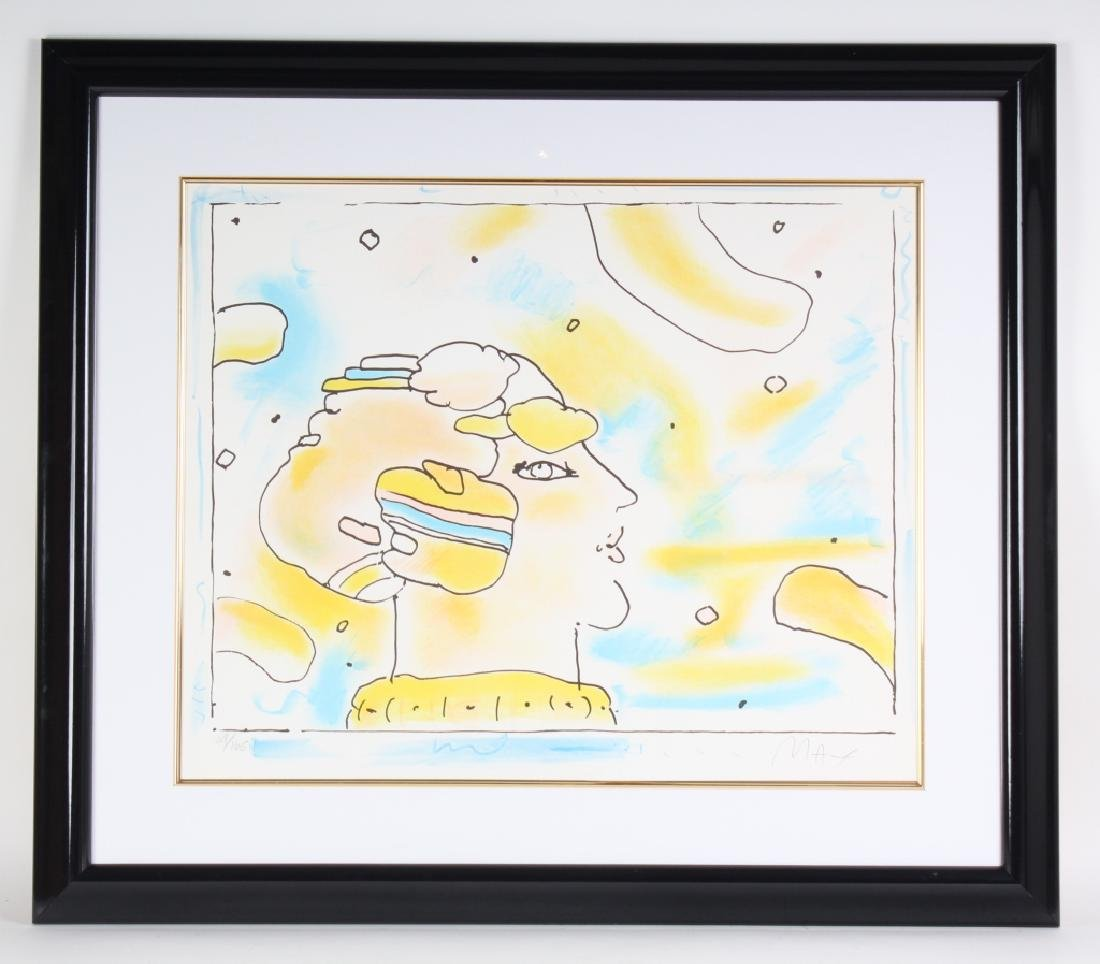 Peter Max b.1937 American Litho Lithograph SIGNED - 2