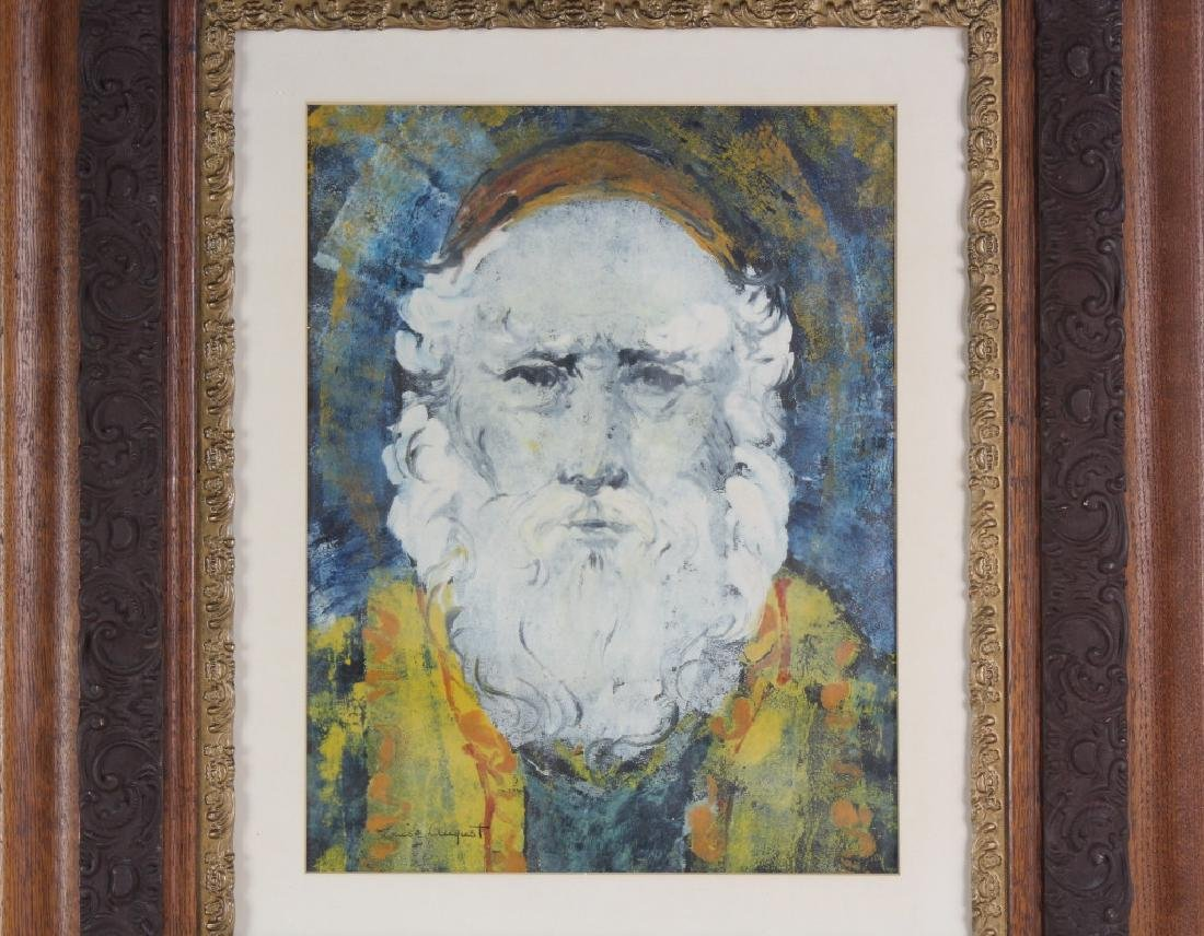 Louise August American Bearded Wise Man Painting - 2