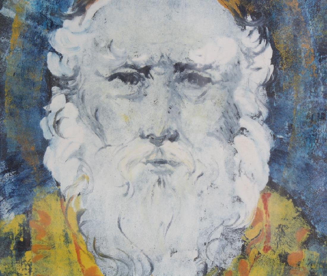 Louise August American Bearded Wise Man Painting - 3
