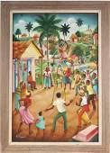 Andre Normil Haitian Art Port-au-Prince Painting