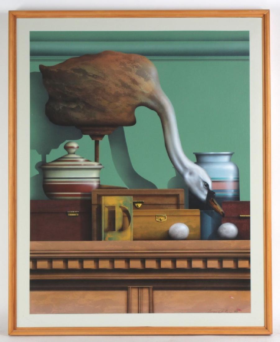 James Carter b1948 American Trompe l'oeil Painting
