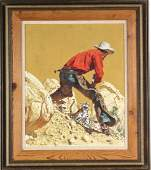 Frank McCarthy American Illustration Art Painting