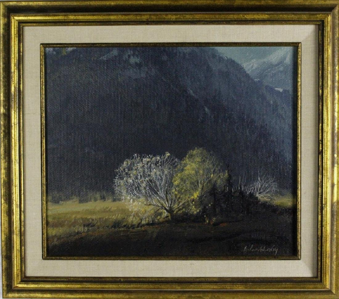 Wilson Hurley American Landscape Art Oil Painting
