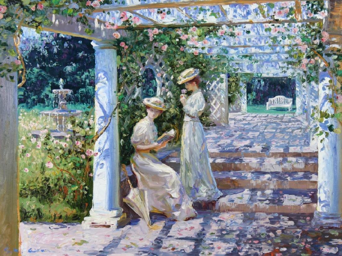 Henry Gordon b1959 American Impressionist Painting