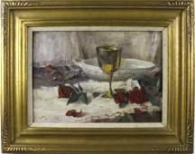 John Encinias b.1949 American Still Life Painting