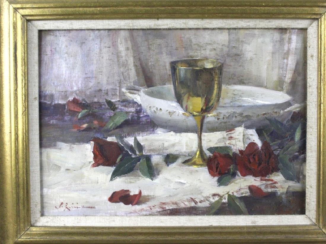 John Encinias b.1949 American Still Life Painting - 2