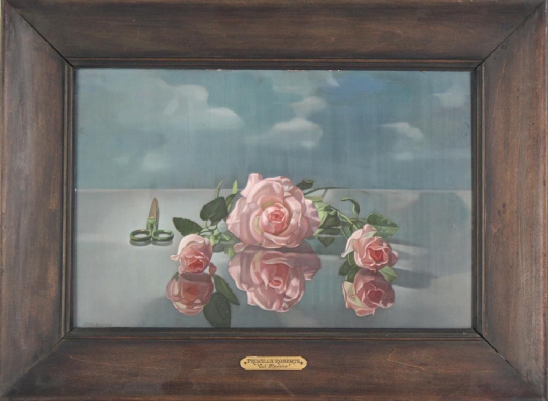 Priscilla Roberts American Still Life Oil Painting