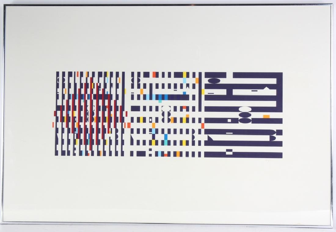 "Yaacov Agam b.1928 ""Three Movements"" L/E Serigraph"