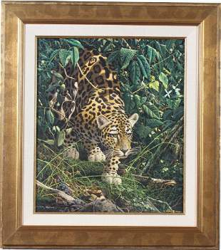 Craig Bone b1955 American AP LE Wild Nature Giclee
