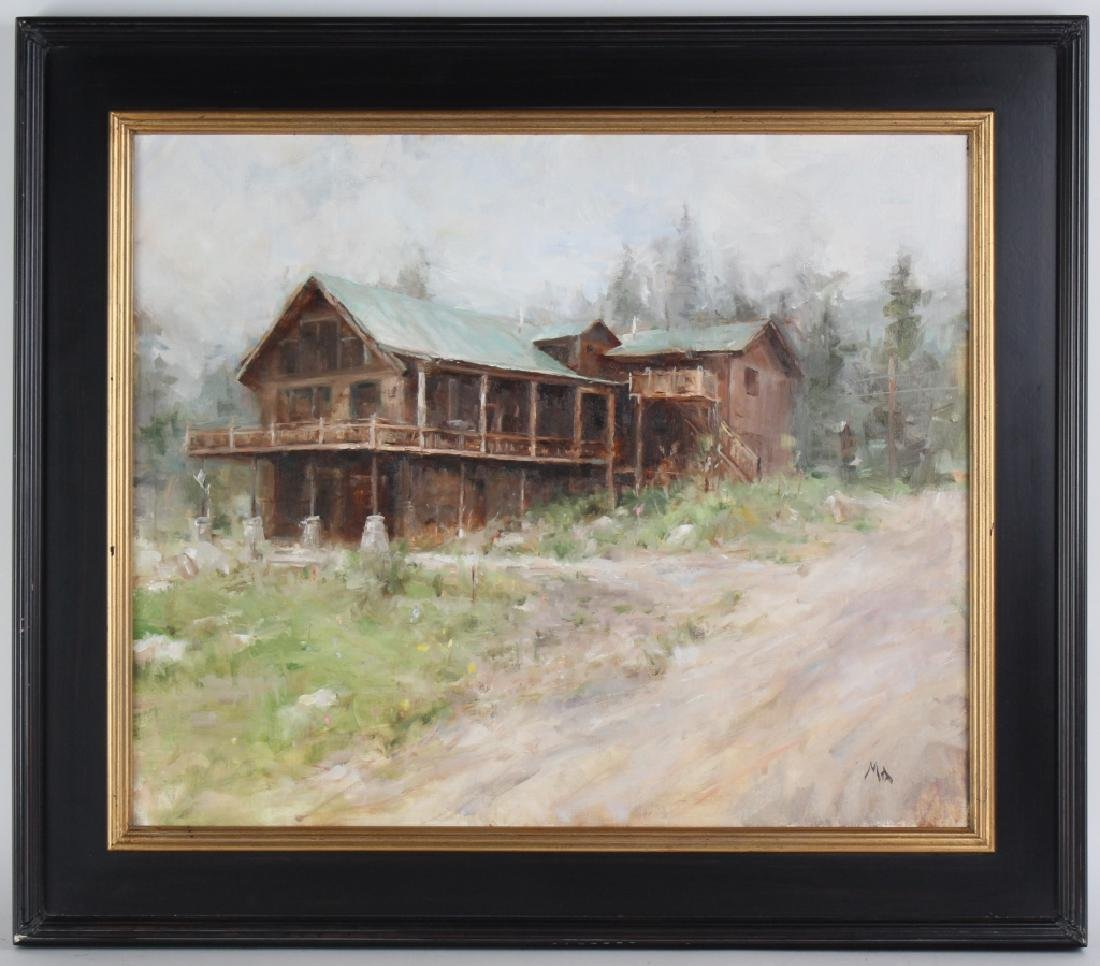 Kyle Ma American Impressionist Landscape Painting