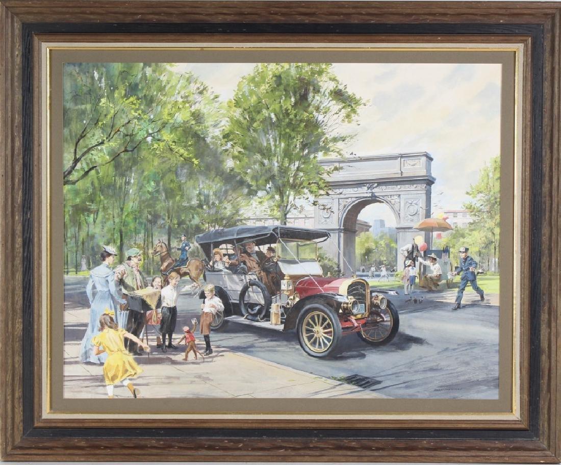 Tran Mawicke American Landscape Art Oil Painting