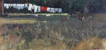 John Seerey Lester American Landscape Oil Painting