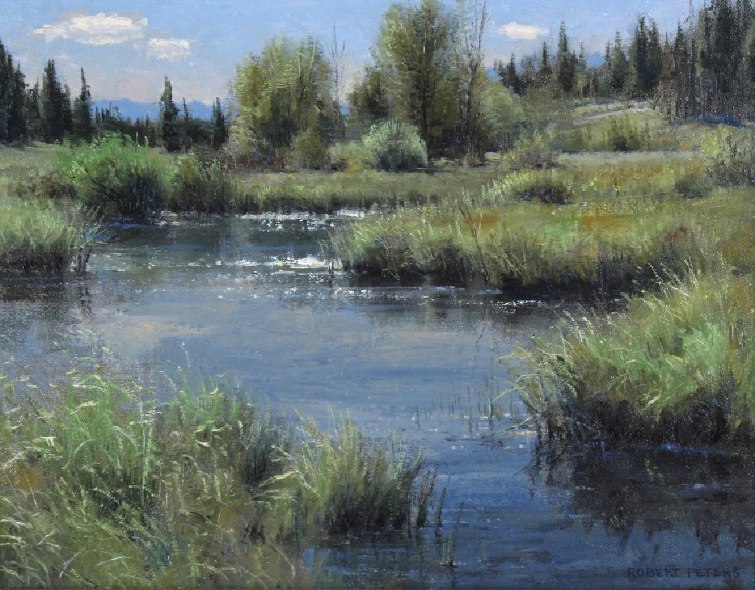 Robert Peters (b.1960) American Landscape Painting