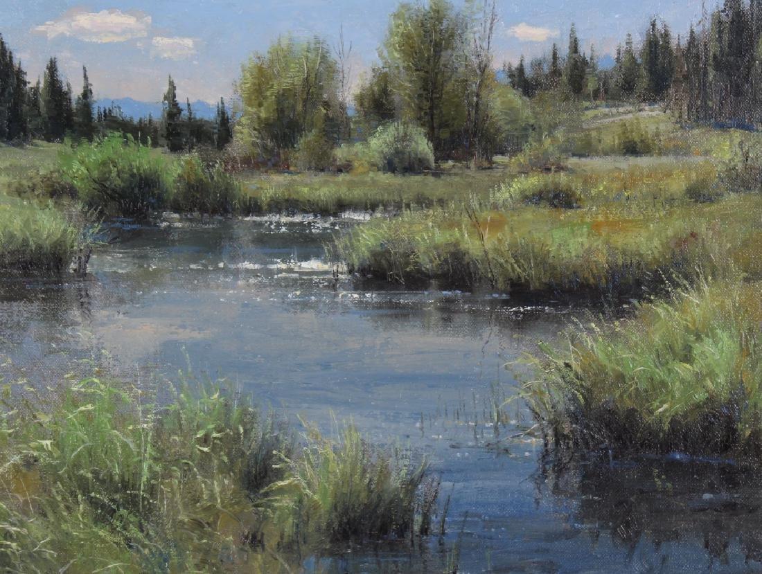 Robert Peters (b.1960) American Landscape Painting - 4