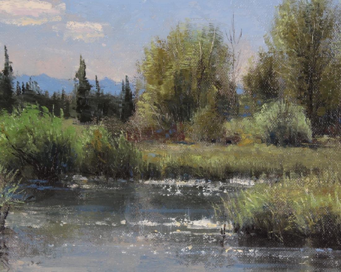 Robert Peters (b.1960) American Landscape Painting - 5