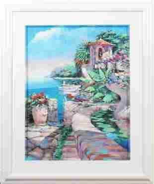 Marko Mavrovich b1960 American Landscape Litho