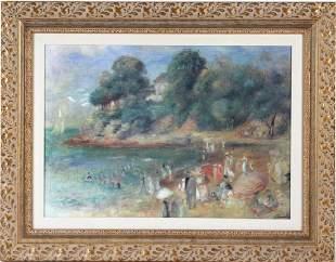 After Pierre Auguste Renoir Impressionist Print